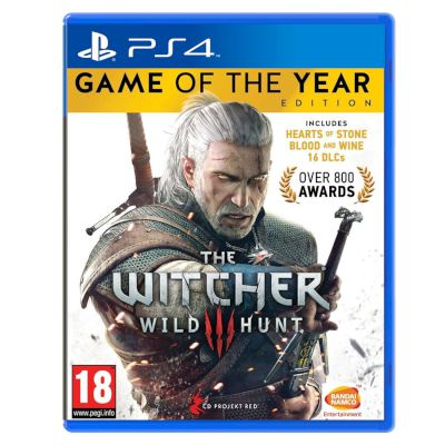 CD Projekt RED The Witcher 3 : Wild Hunt GOTY Edition Playstation 4