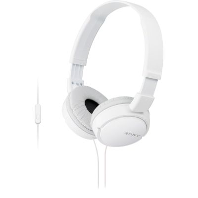 Headphones Sony MDR-ZX110AP Λευκό