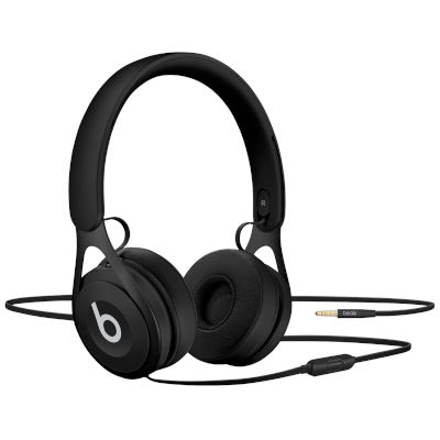 EP On-Ear Headphones - Black