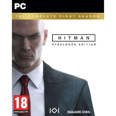 Square Enix Hitman Complete 1st Season Day 1 Steelbook PC