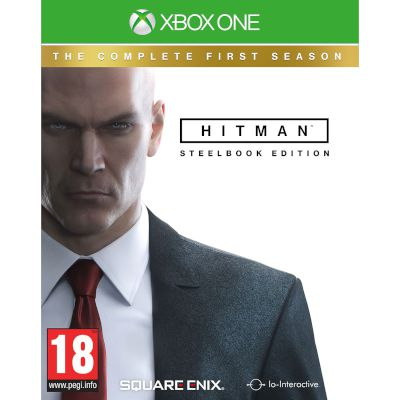 Square Enix Hitman Complete 1st Season Day 1 Steelbook Xbox One