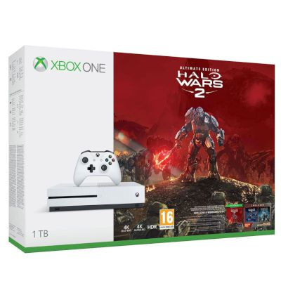 Microsoft Xbox ONE S 1 TB Halo Wars 2 Ultimate