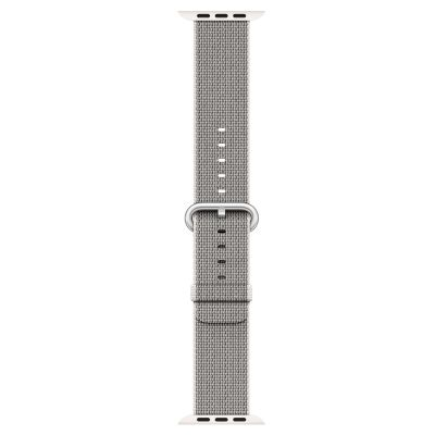 Watch 42mm Pearl Woven Nylon