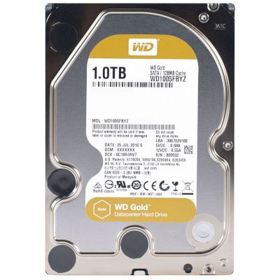 WD Datacenter HDD 1TB Gold