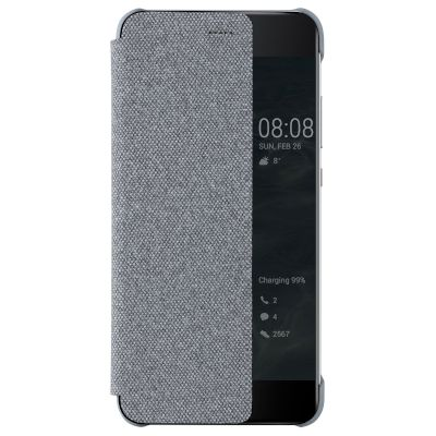Θήκη HUAWEI View Cover για P10 Plus Light Grey