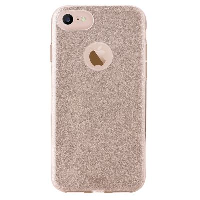 Θήκη Puro Back Cover για iPhone 8/7 Glitter Gold