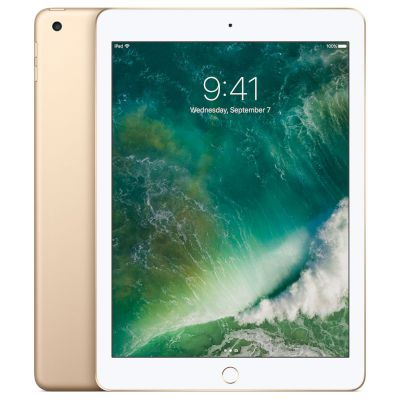 "Apple iPad Wifi 128GB Gold Tablet 9.7"" WiFi"