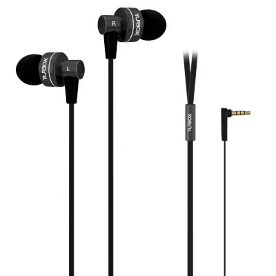 Handsfree Turbo-X Double-the-BASS Μαύρο