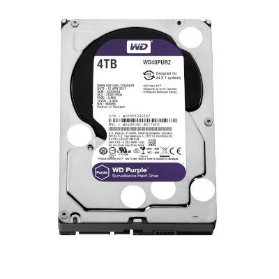 WD Purple Surveillance HDD 4TB
