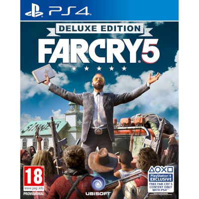 Ubisoft Far Cry 5 Deluxe Edition Playstation 4