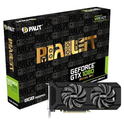 Palit VGA GeForce GTX 1080 Dual OC 8GB