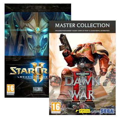 Starcraft II Legacy Of The Void + Dawn Of War II Master Collection PC