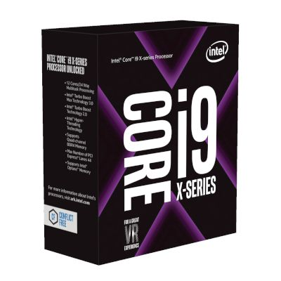 Intel CPU Core i9 7920X (2066/2.9 GHz/16.5 MB)