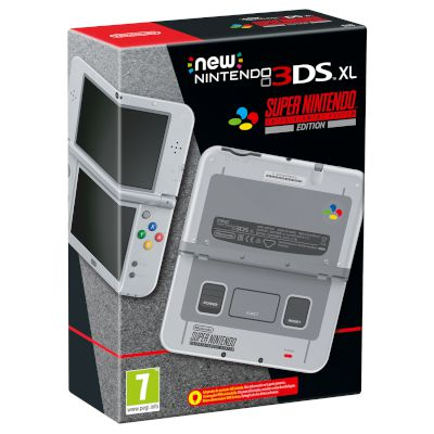 Nintendo 3DS XL SNES Limited Edition