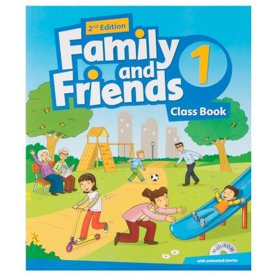 Family & Friends 1 Student's Book & Reader (+Multi-Rom) 2nd Edition 2017