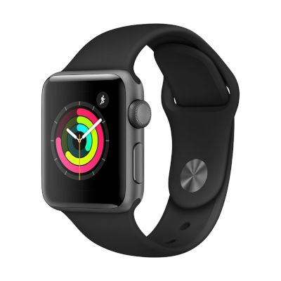 Watch Series 3 GPS, 38mm Space Grey Aluminium Case with Black Sport Band