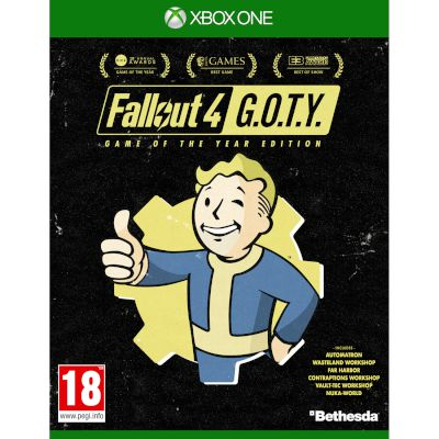 Bethesda Fallout 4 Game Of The Year Edition Xbox One