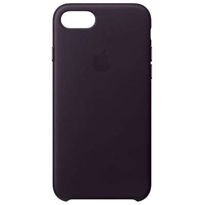 Θήκη Apple Back Cover για iPhone 8/7 Dark Aubergine