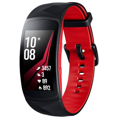 Smartband Gear Fit 2 PRO RED small