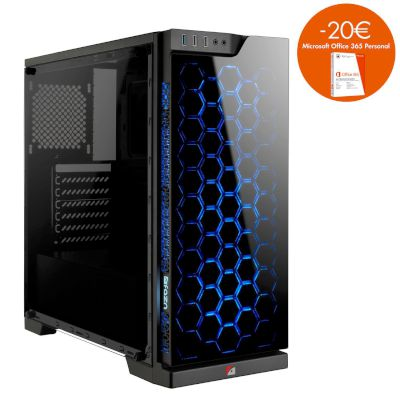 Turbo-X Cerberus GK400 8th gen Desktop (Intel Core i5 8400/8 GB/120 GB SSD/1 TBHDD/GTX 1050 Ti)