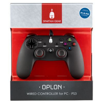 Spartan Gear Wired Controller Oplon Wired PC/PS3