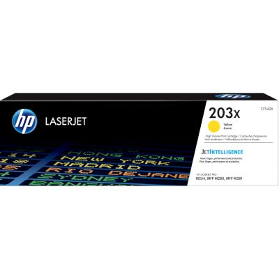Toner HP 203X Yellow