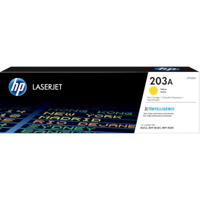Toner HP 203A Yellow