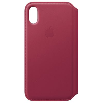 Θήκη Apple Book Cover για iPhone X Berry