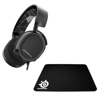 Steel Series Gaming Headset Arctis 3 + Mousepad QCK Mini