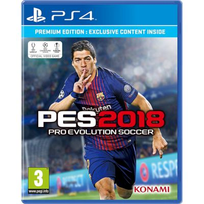 Konami Pro Evolution Soccer 2018 Standard Edition Playstation 4