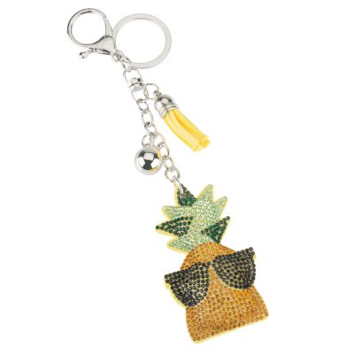 Μπρελόκ Strass Pineapple