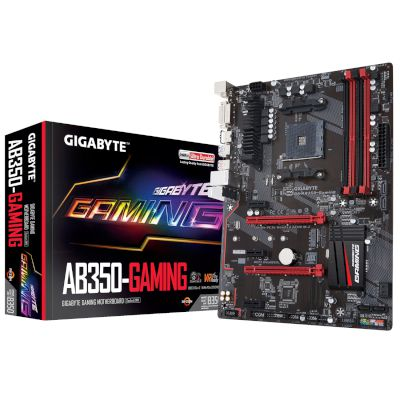 Gigabyte Motherboard AB350 Gaming (B350/AM4/DDR4)