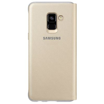 Θήκη Samsung Book Cover για Galaxy A8 Χρυσή,Neon
