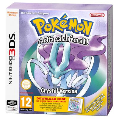 Nintendo Pokemon Crystal (Code) 3DS