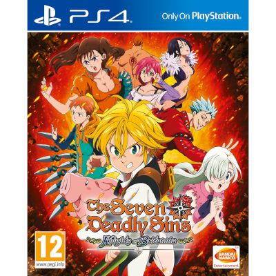 Namco The Seven Deadly Sins Playstation 4