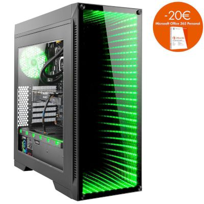 Turbo-X Nemesis N300 Desktop (Intel Core i7 8700/16 GB/256 GB SSD/2 TB HDD/GTX 1070)