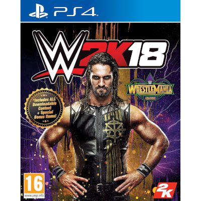 Take2 Interactive WWE 2k18 Wrestlemania Edition Playstation 4