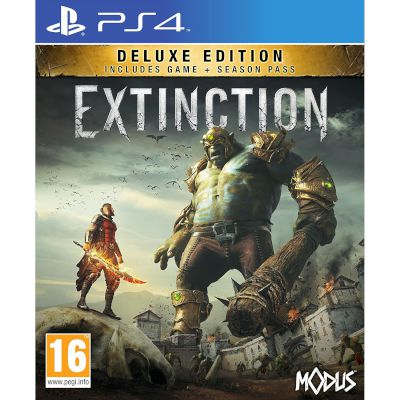 Maximum Games Extinction Deluxe Edition Playstation 4