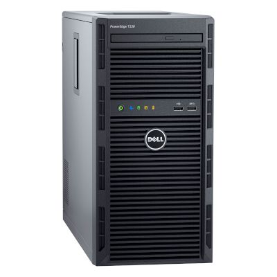 Server PE T130 (Intel Xeon E3-1220v6/8 GB/2x 1 TB HDD//Matrox G200)