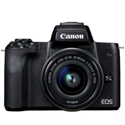 Canon Mirrorless EOS M50 15-45mm Μαύρο