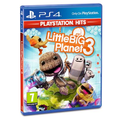 Sony Little Big Planet 3 Playstation Hits Playstation 4