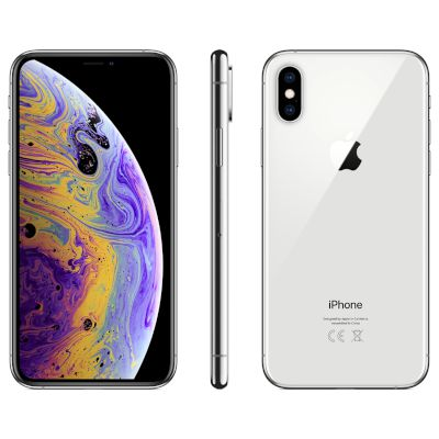 Apple iPhone XS 512GB Silver 4G+ Smartphone