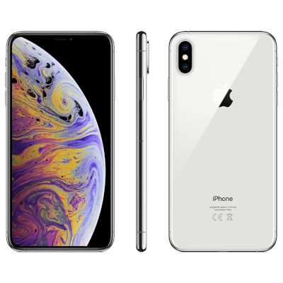 Apple iPhone XS Max 512GB Silver 4G+ Smartphone