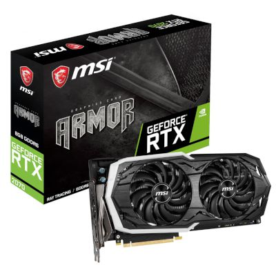 MSI VGA GeForce RTX 2070 ARMOR 8GB
