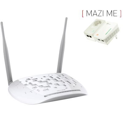 Set Modem W9970 + Powerline TL-WPA4226KIT