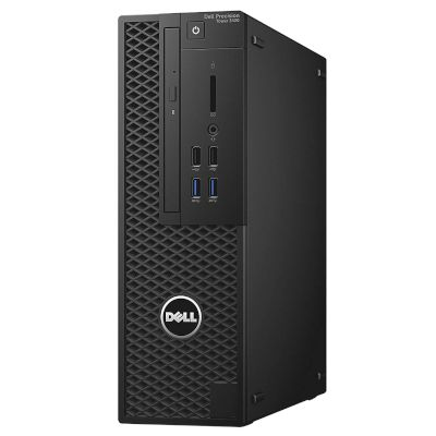 Dell Workstation 3430SFF Desktop (Intel Core i5 8600/8 GB/1 TB HDD/240 GB SSD/Quadro P600)
