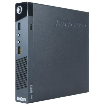 Lenovo ThinkCentre M93 Tiny i5 Refurbished Desktop (Intel Core i5 4570Τ/8 GB/128 GB SSD//HD 4600)