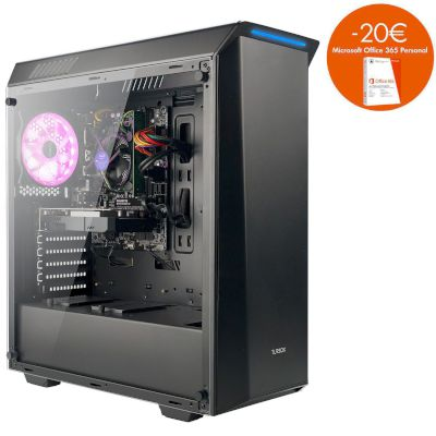 Turbo-X Erebus E200 Desktop (Intel Core i3 7350K/8 GB/1 TB HDD/120 GB SSD/GTX 1050)