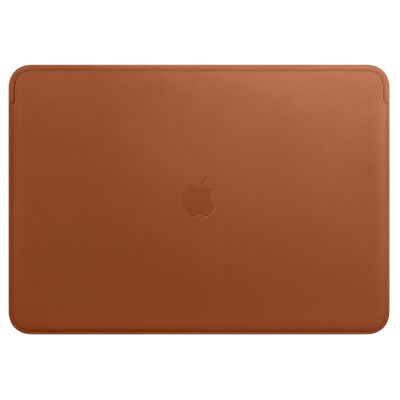 "Apple Sleeve 13.3"" Leather MacBook Saddle Brown"