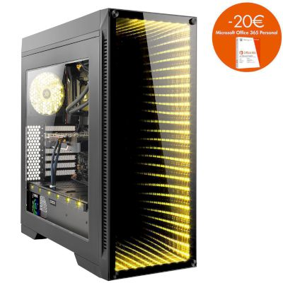 Turbo-X Nemesis N150 Desktop (Intel Core i5 9400/8 GB/1 TB HDD/240 GB SSD/RTX 2060)